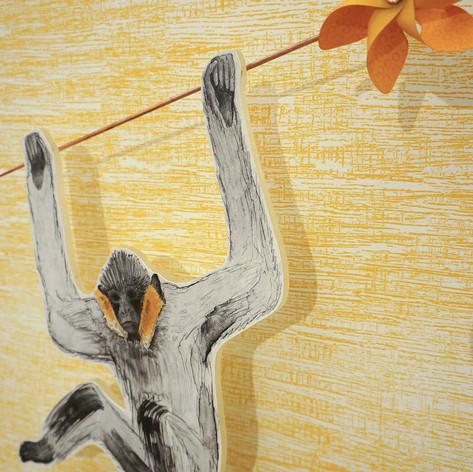 Gibbon Song (detail)