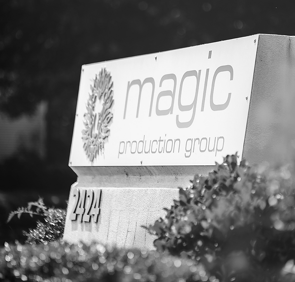 Magic Production Group sign