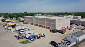 three-quarter view of AAA Self Storage Plano