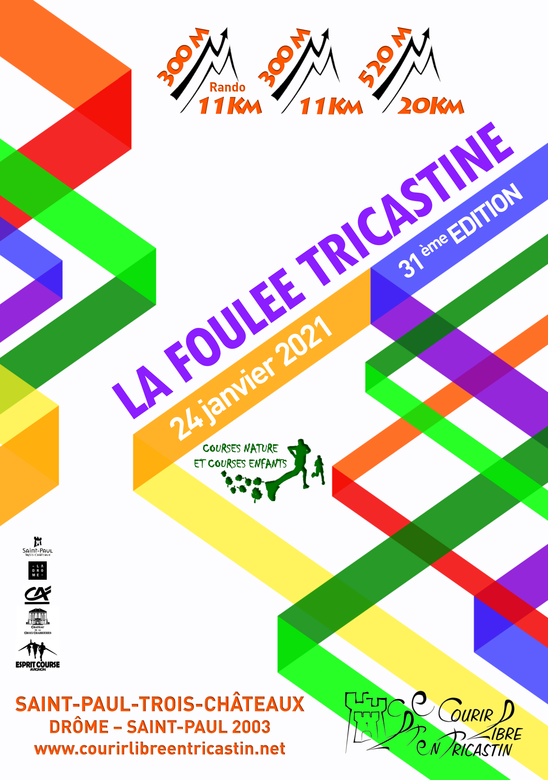 FOULEE TRICASTINE 2021