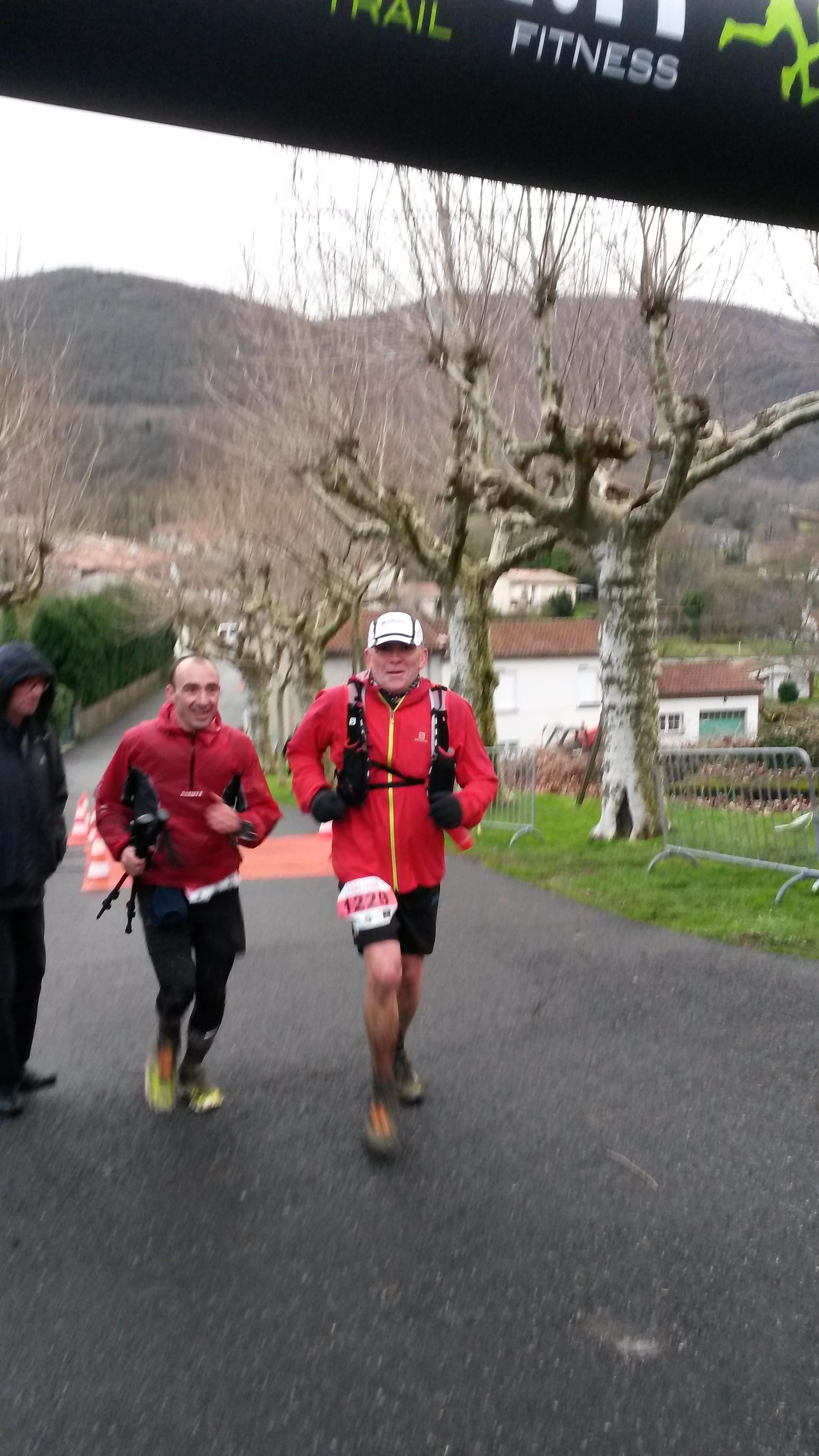 Trail extrême à Saint Amans Soult