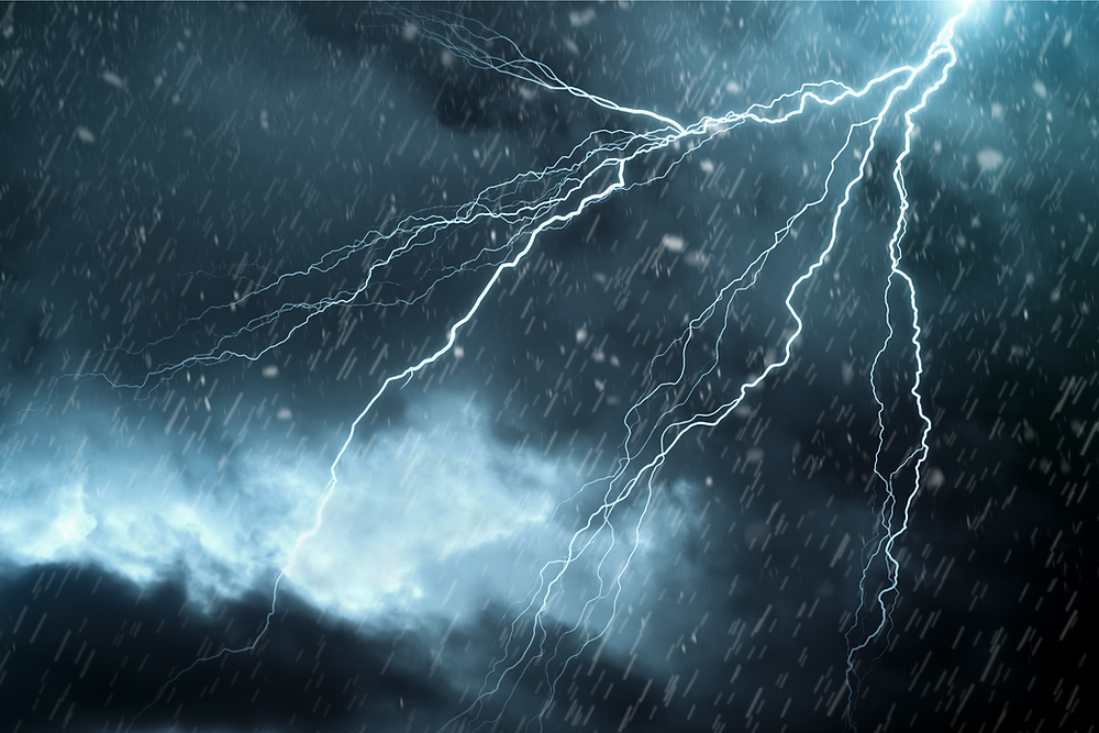 Thunderstorm with rain, lightening, & hail | Insurance benefits after a storm | Vogt's Hometown Roofing | Boerne San Antonio roofers
