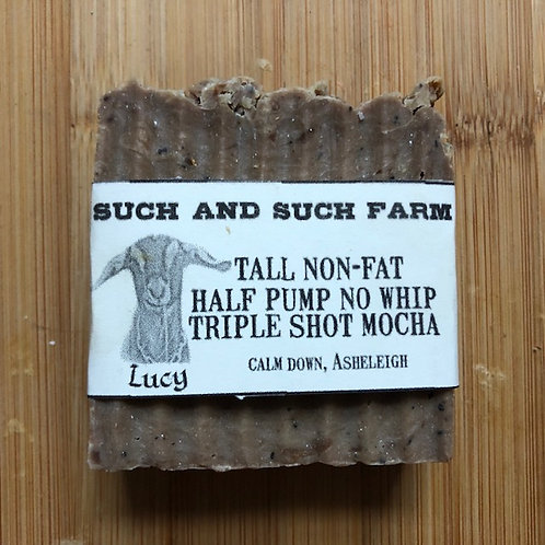 Tall Non-Fat Half Pump No Whip Triple Shot Mocha