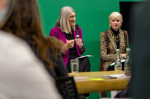 A talk with two senior business women