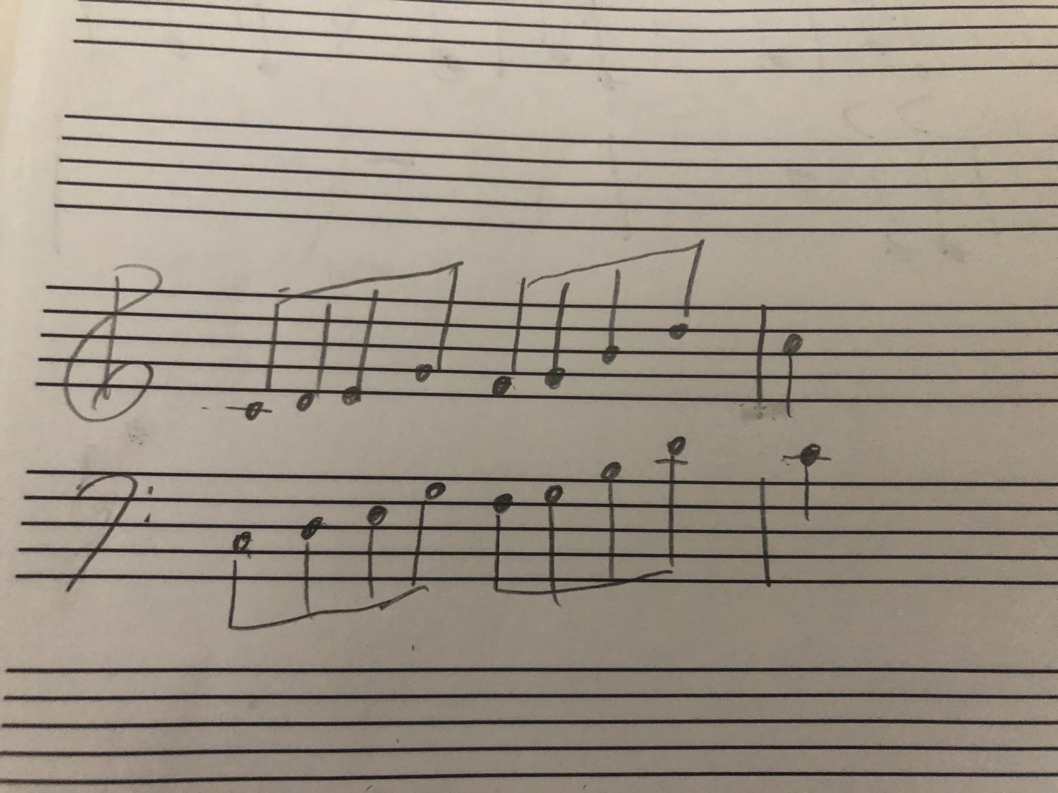 Quick thought: what to transcribe?