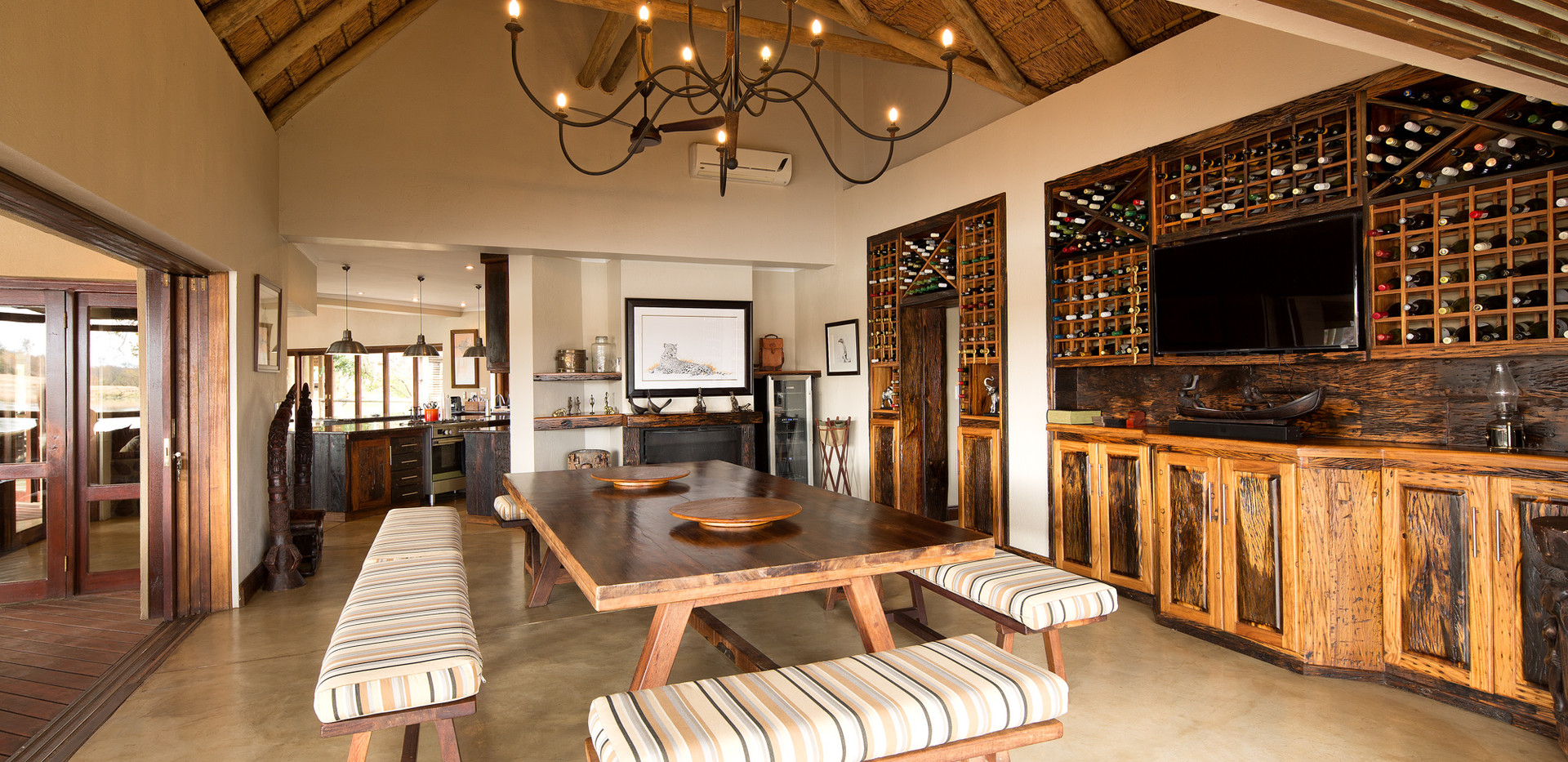 Enjoy our wine at Weaver's Nest Lodge