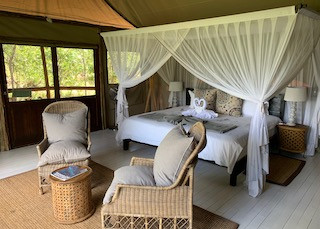 relax in a lodge