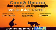 Cane & Umano, due specie-un linguaggio.