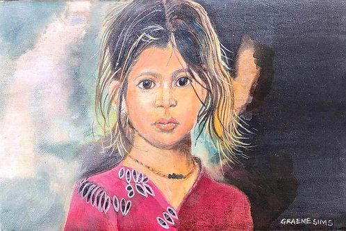 The Indian girl