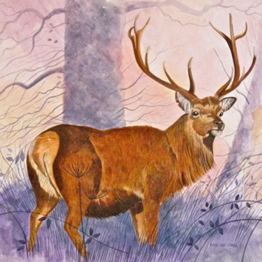 The red stag