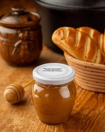 Raw Orange Blossom Honey Jar 250 grams