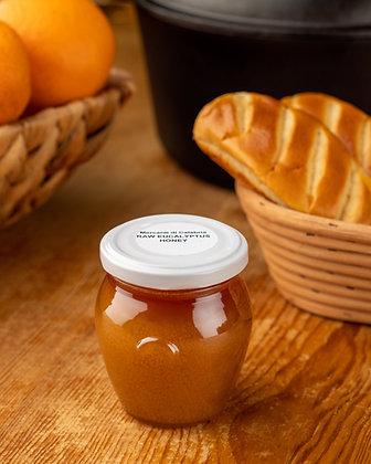Raw Eucalyptus Honey Jar 250 grams