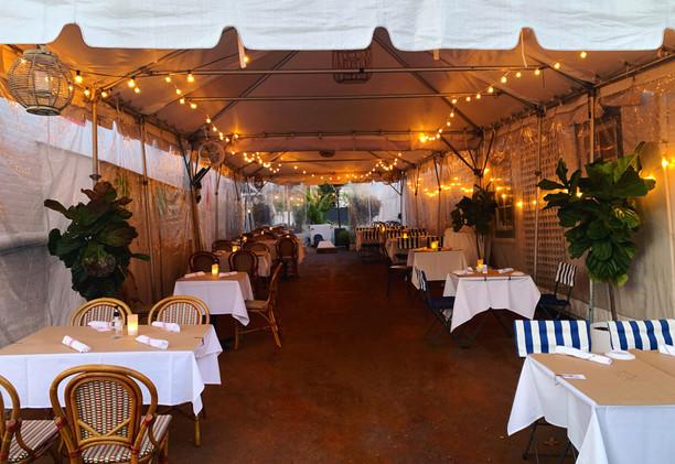 orienta outdoor dining