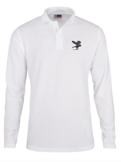 EAGLE POLO LS - White