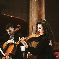 Shostakovich with Second Movement series photo by Matthew Fried #classical #viola #chambermusic