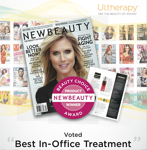 Ultherapy uplifting ultrasound