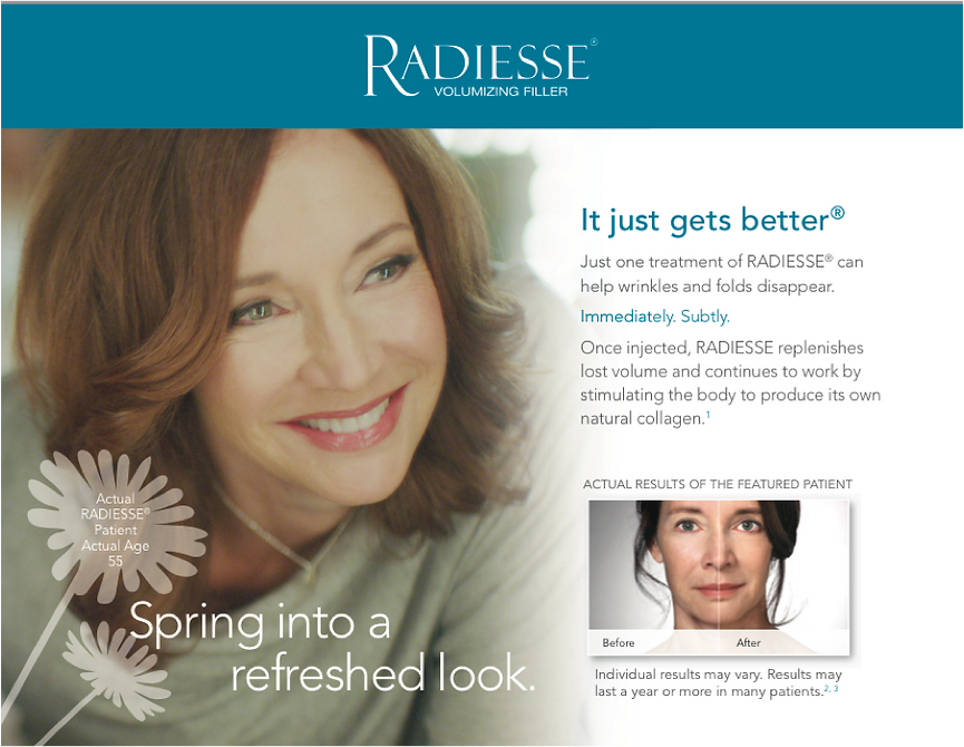 Radiesse injections procedure