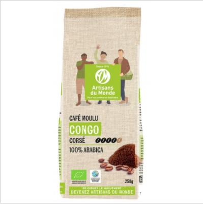 Café Congo bio 250g moulu