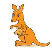 Wallet the Wallaby Logo