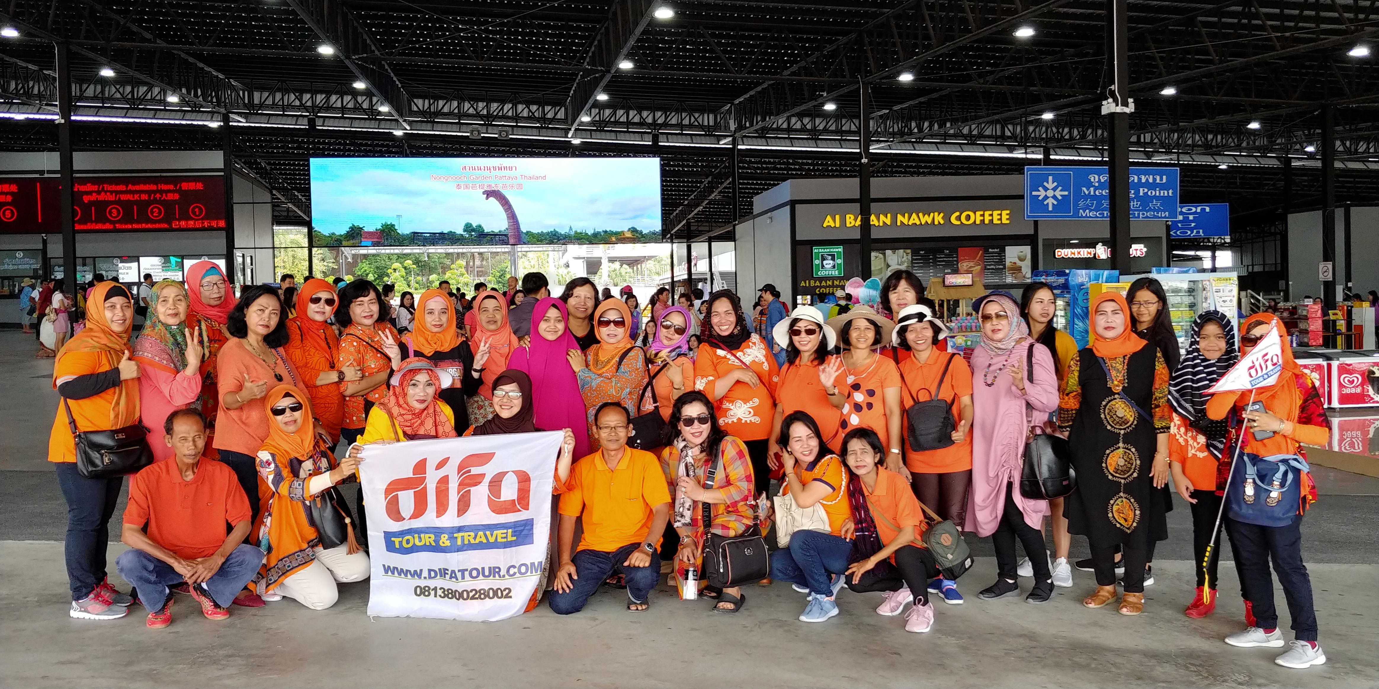 THAILAND DIFA TOUR