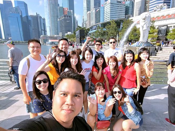 Group Kantoran Semarang to Singapore