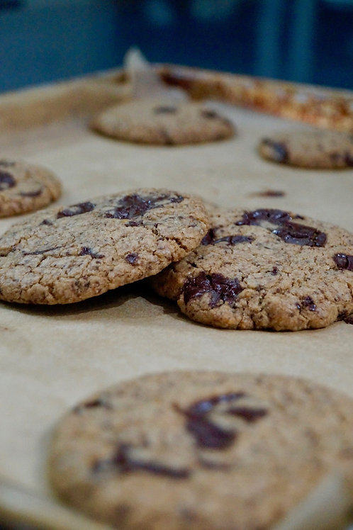 vegan chocolate chip cookie 6-pack