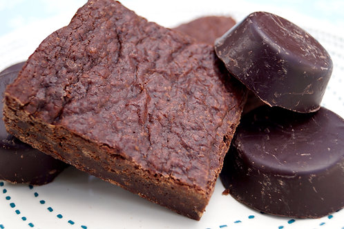 vegan fudge brownie 3-pack