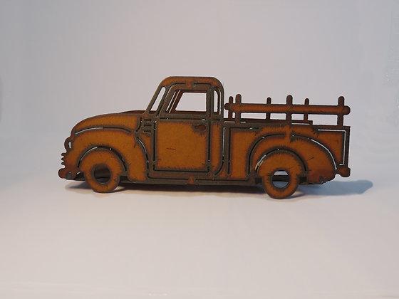 Metal Rustic Truck Planter