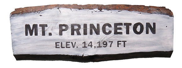 Mt. Princeton Painted Sign
