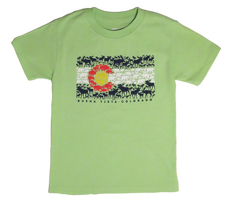 Colorado Wildlife Youth T-Shirt