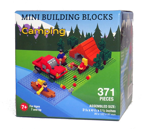 Camping - Mini Building Blocks