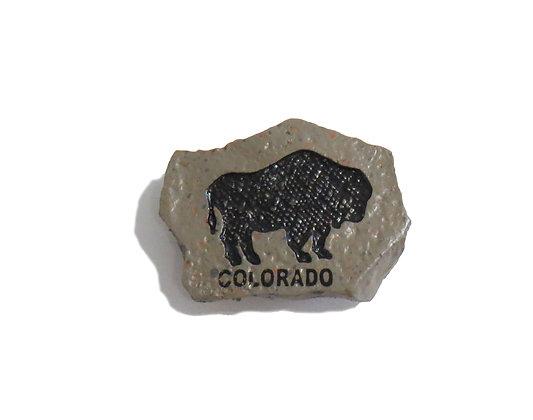 Rock Magnet - Colorado Bison