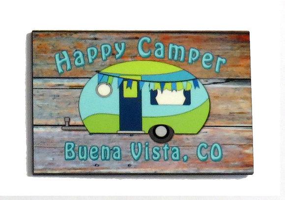 Happy Camper Buena Vista, CO Magnet