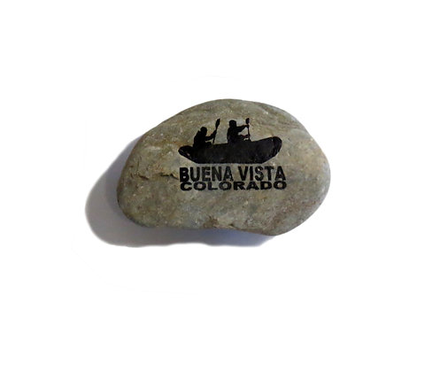 River Rock Magnet - Buena Vista, CO Rafters