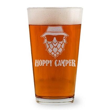 Hoppy Camper Pint Glass