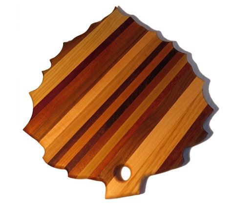 Aspen Leaf Cutting Board