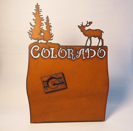 Metal Colorado Magnetic Photo Frame