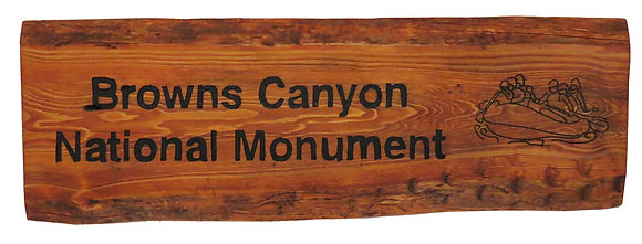 Browns Canyon National Monument and Rafters