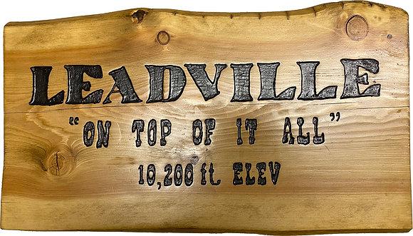 Leadville On Top Of It All