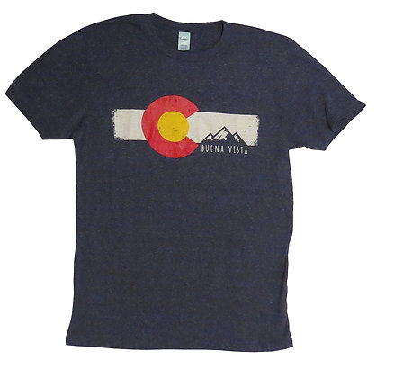 Flag & Mountains T-Shirt