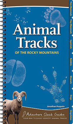 Animal Tracks of the Rocky Mountains Quick Guide
