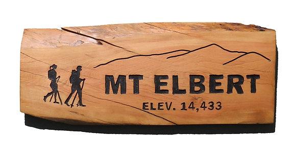 Mt. Elbert and Hikers