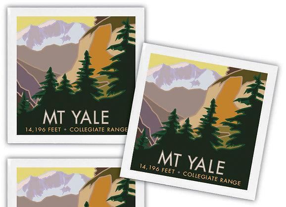 Mt. Yale Ceramic Coaster