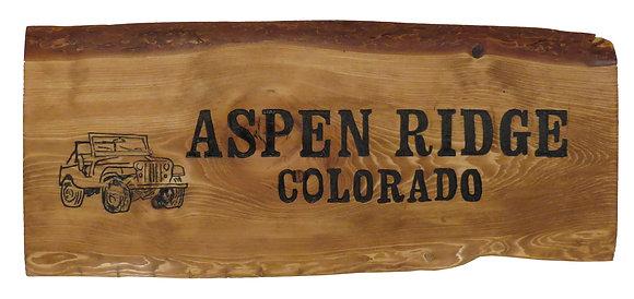 Aspen Ridge and Jeep