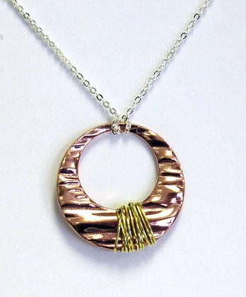 """""""Calm"""" Copper  Necklace"""