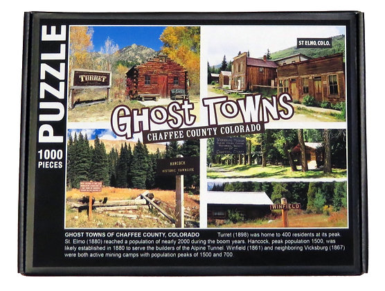 Ghost Towns of Chaffee County Puzzle
