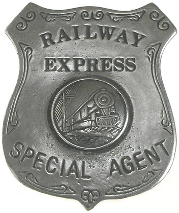 Railway Express Special Agent Shield