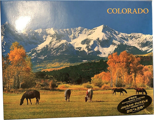 Colorado Horses Jigsaw Puzzle
