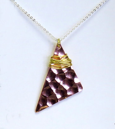 """Wild"" Copper  Necklace"