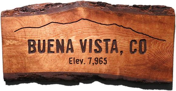 Buena Vista and Mountains
